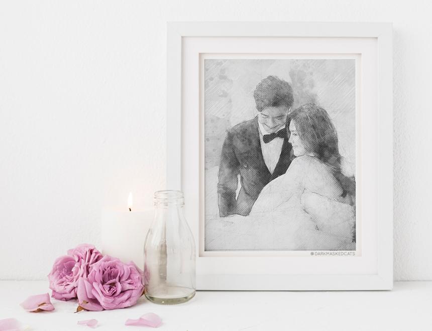 DarkMaskedCats - Engagement Anniversary Portraits 800